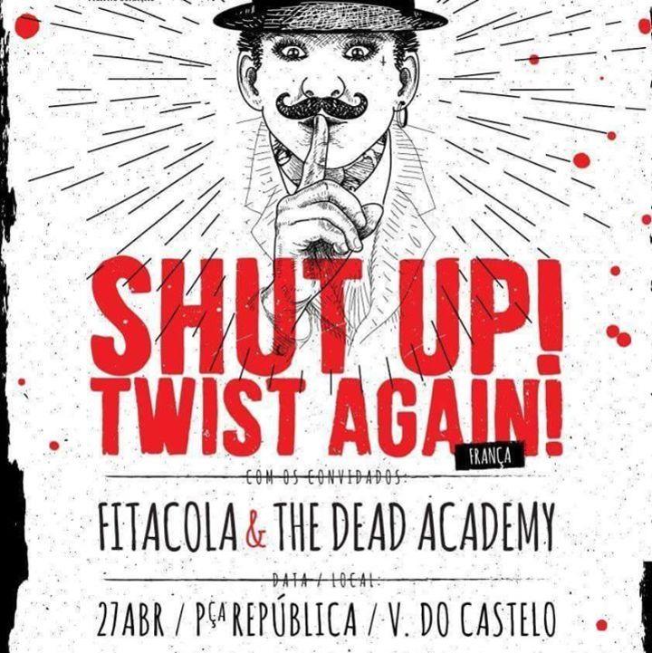 The Dead Academy Tour Dates