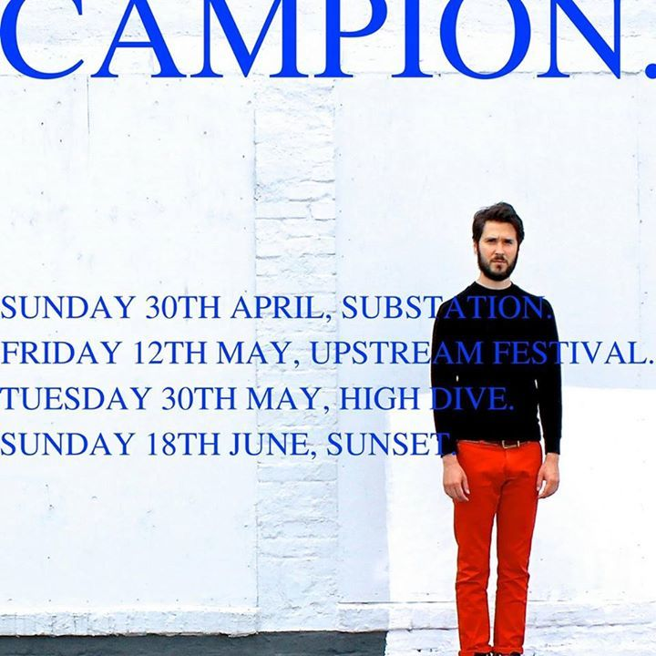Campion Tour Dates
