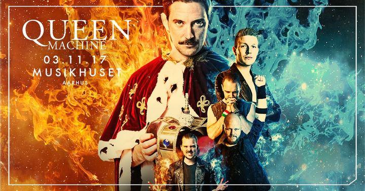 Queen Machine @ Musikhuset Aarhus - Århus C, Denmark