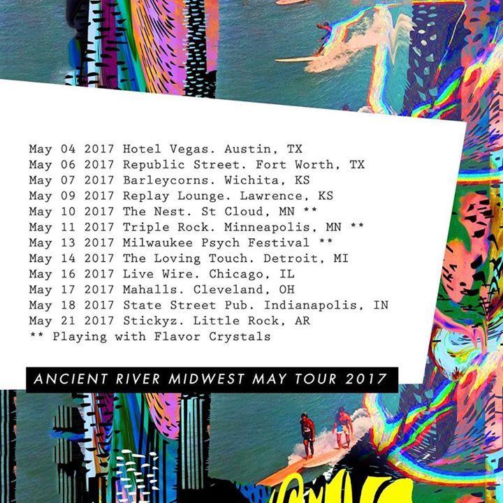Ancient River Tour Dates