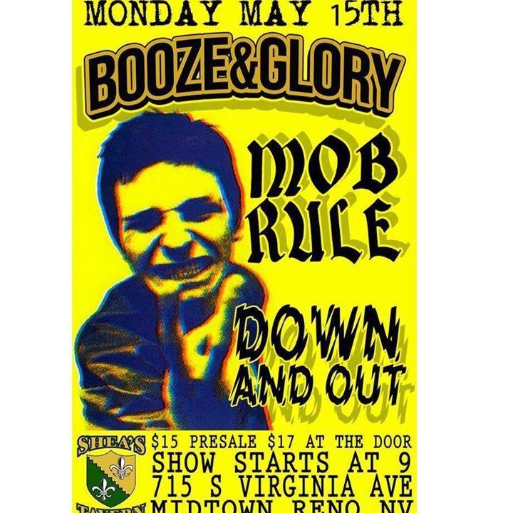 Mob Rule Tour Dates