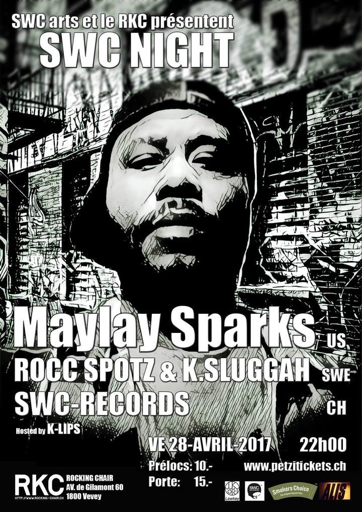 The Original Maylay Sparks @ RKC Vevey - Lausanne, Switzerland