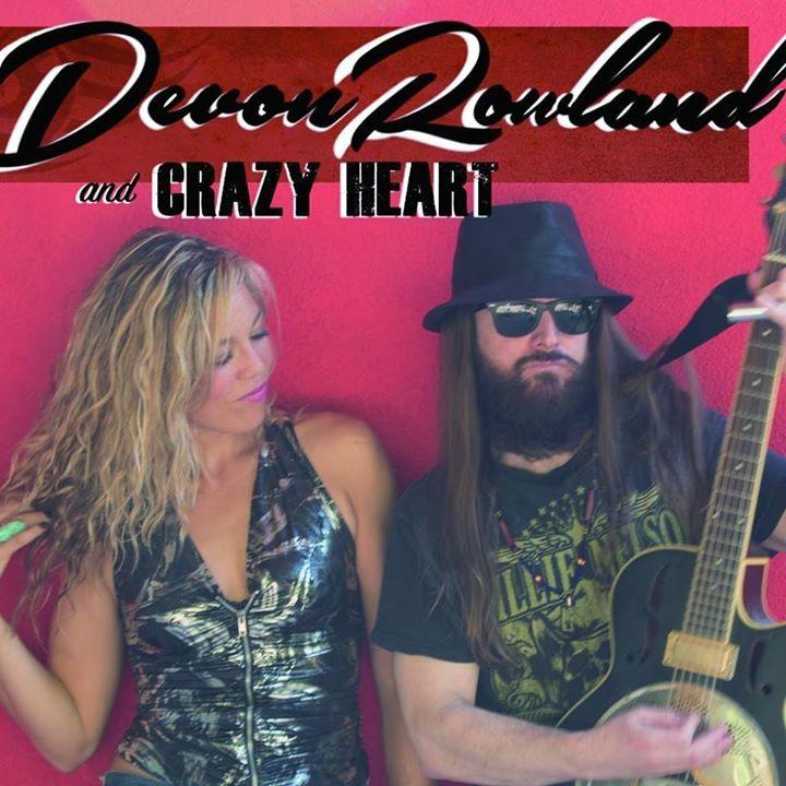 Devon Rowland & The Crazy Hearts Tour Dates