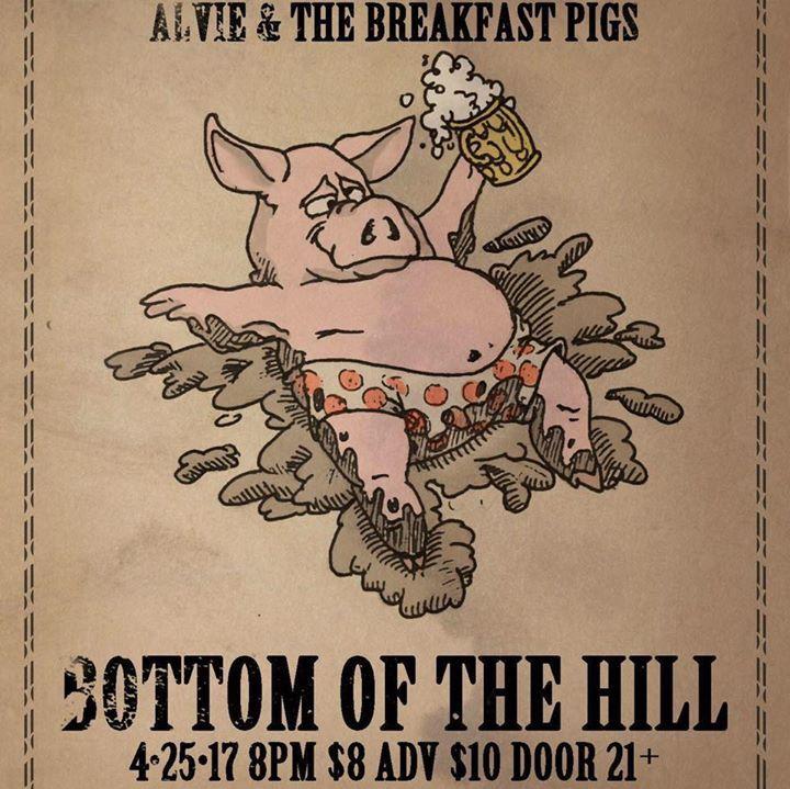 Alvie & The Breakfast Pigs @ Hemlock Tavern - San Francisco, CA