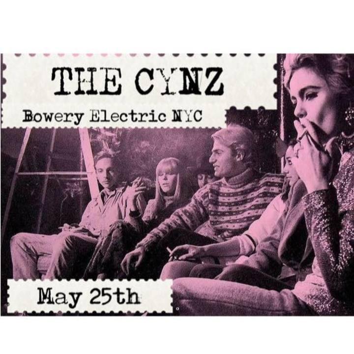 The Cynz Tour Dates