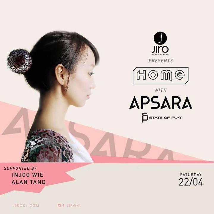 DJ Apsara @ Jiro - Kuala Lumpur, Malaysia