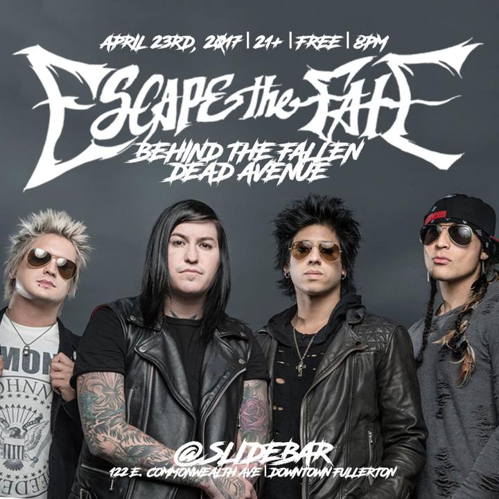 Escape the Fate @ Slide Bar - Fullerton, CA