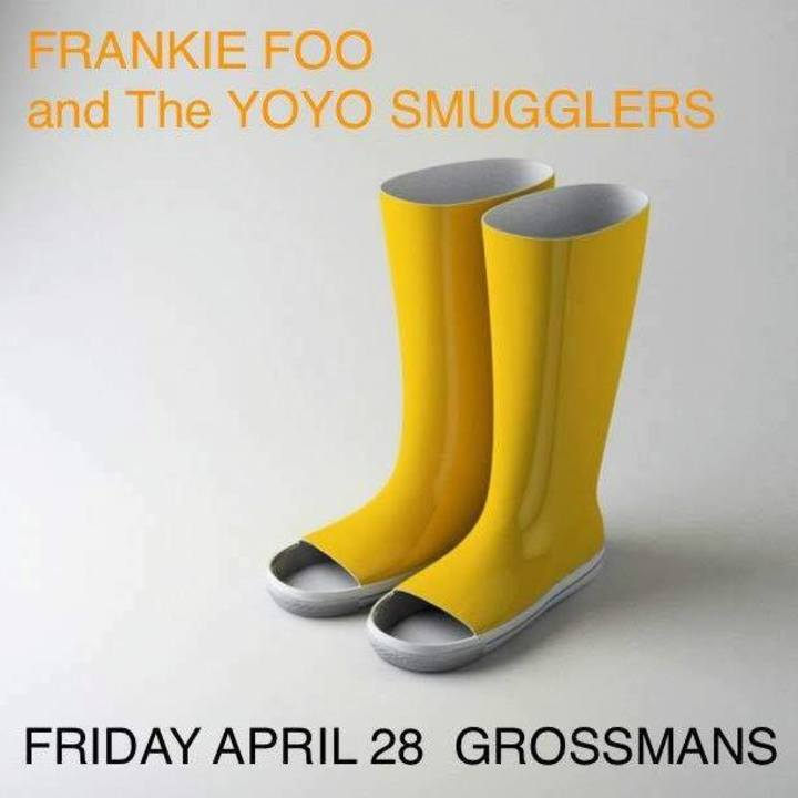 Frankie Foo and The Yoyo Smugglers Tour Dates