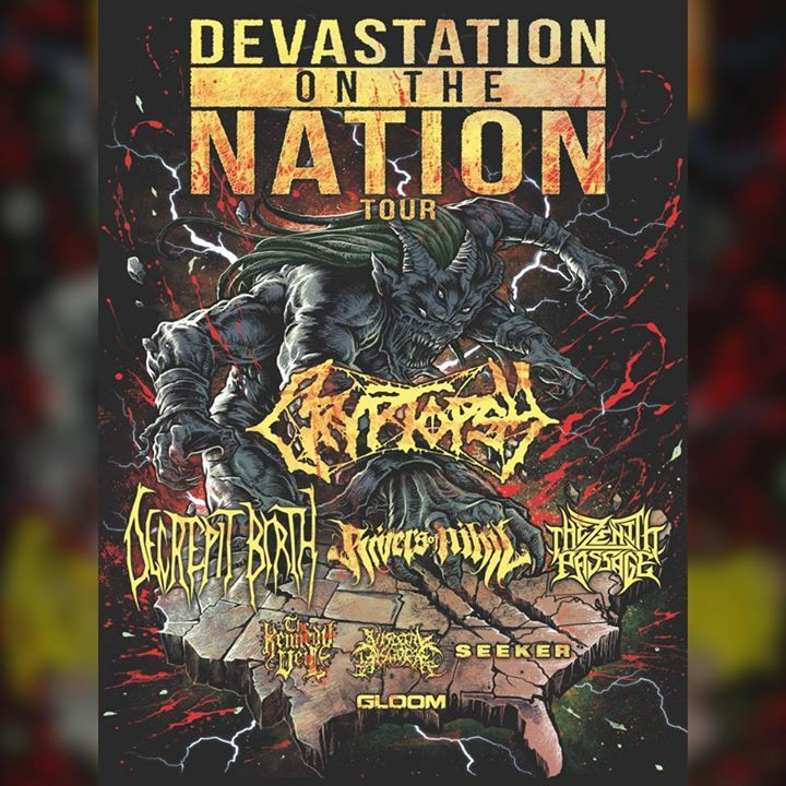 Decrepit Birth Tour Dates
