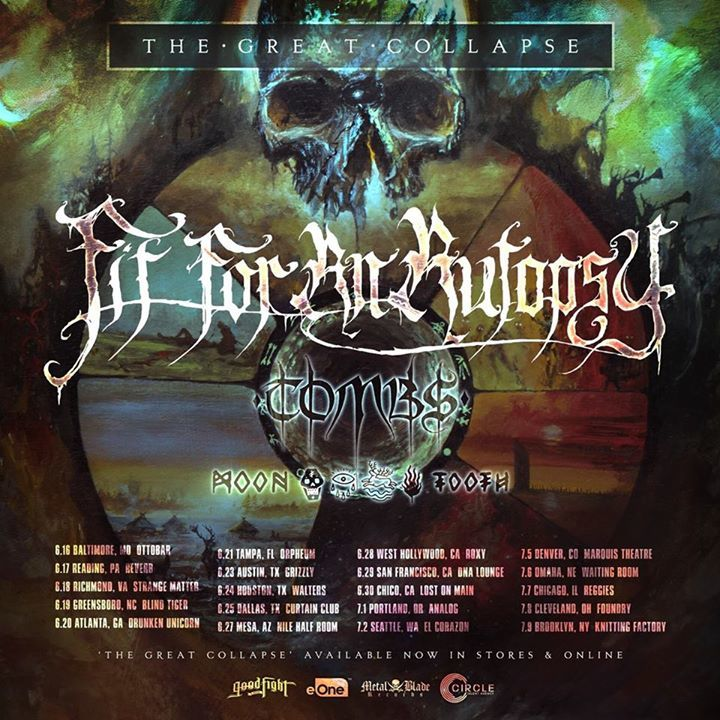 Tombs Tour Dates