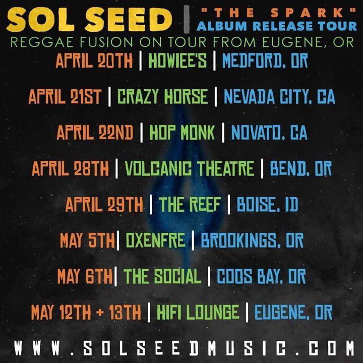Sol Seed @ Mississippi Studios - Portland, OR