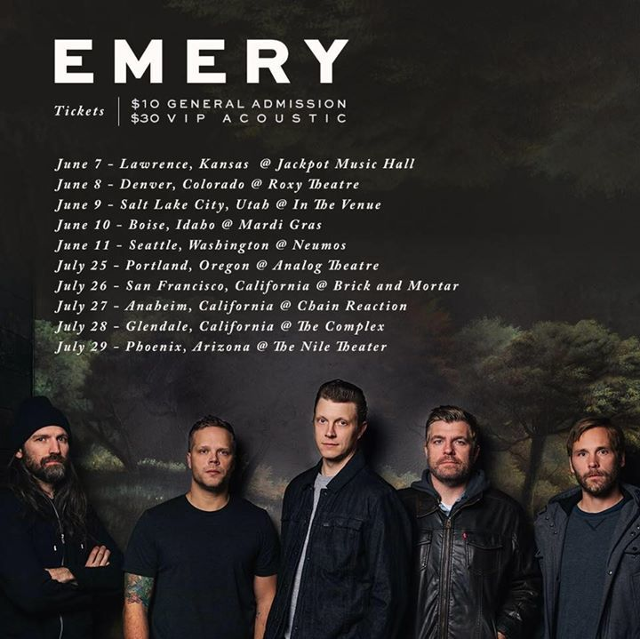 Emery @ The Whisky - Los Angeles, CA