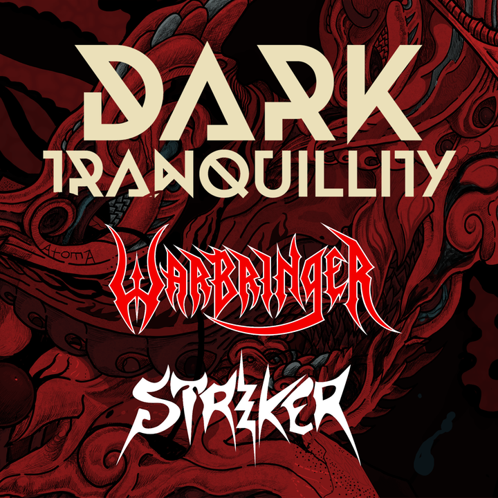 Dark Tranquillity @ The Starlite Room - Edmonton, Canada