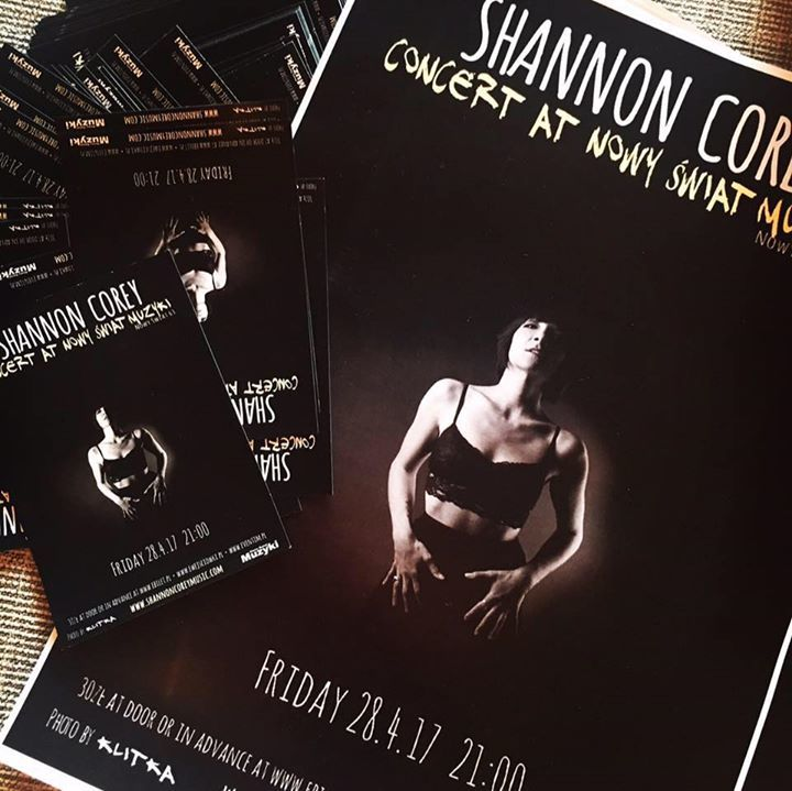 Shannon Corey Tour Dates