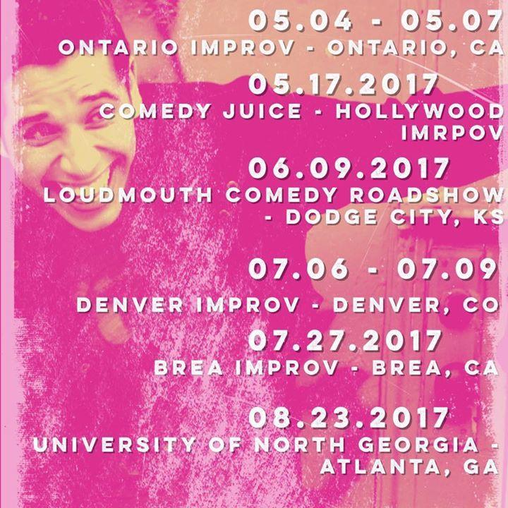 Erik Rivera Tour Dates