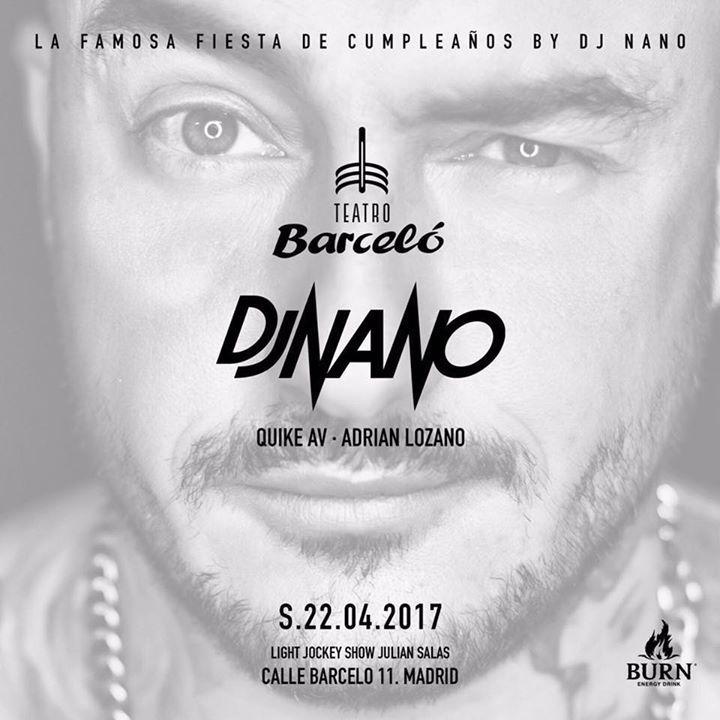 DJ Nano Tour Dates