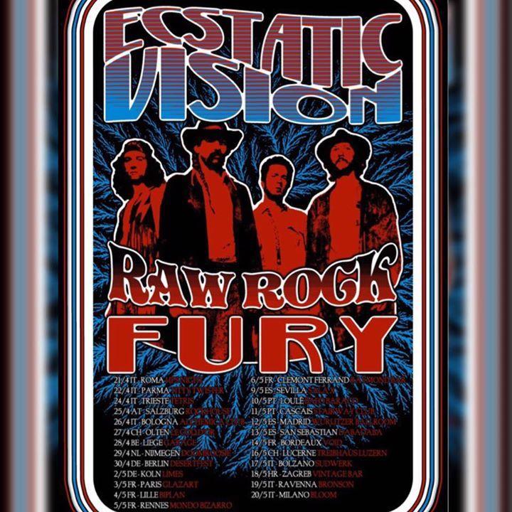 Ecstatic Vision Tour Dates
