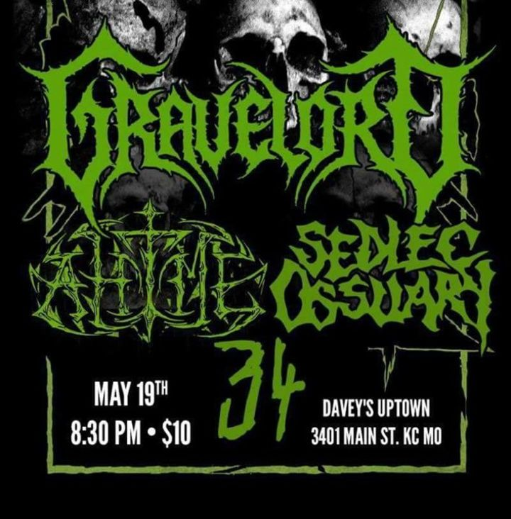 Gravelord US Tour Dates