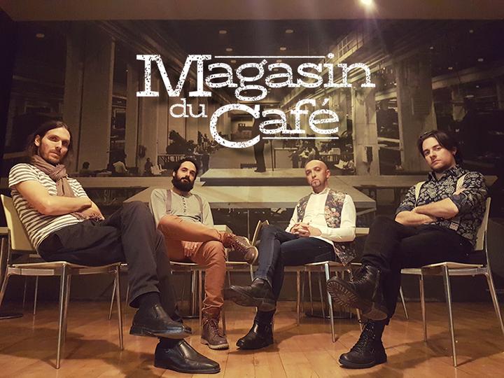 Magasin du café Tour Dates