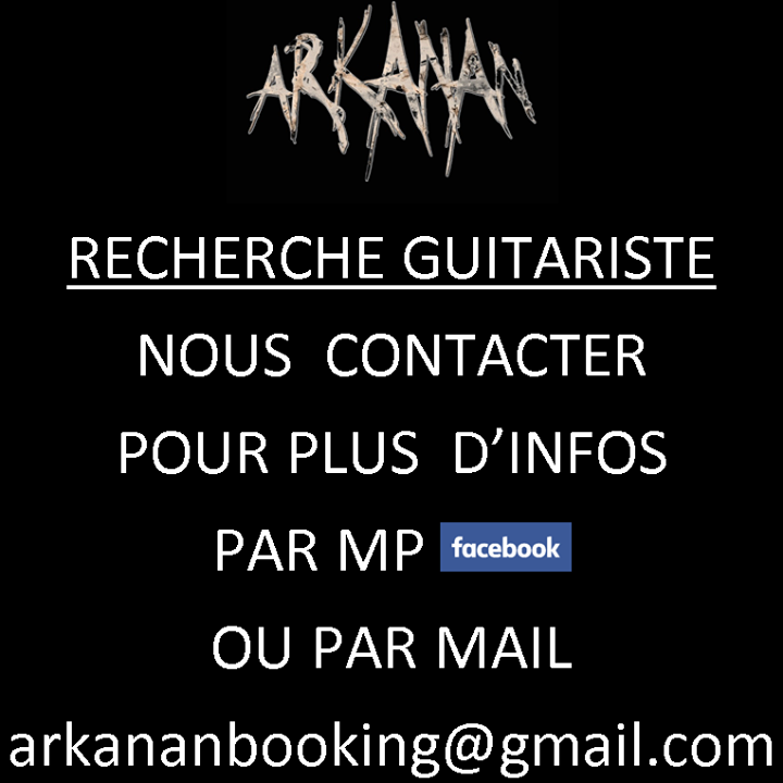 Arkanan Tour Dates