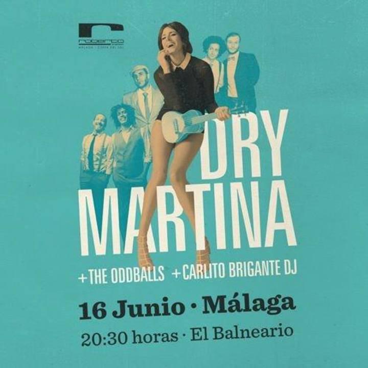Dry Martina Tour Dates