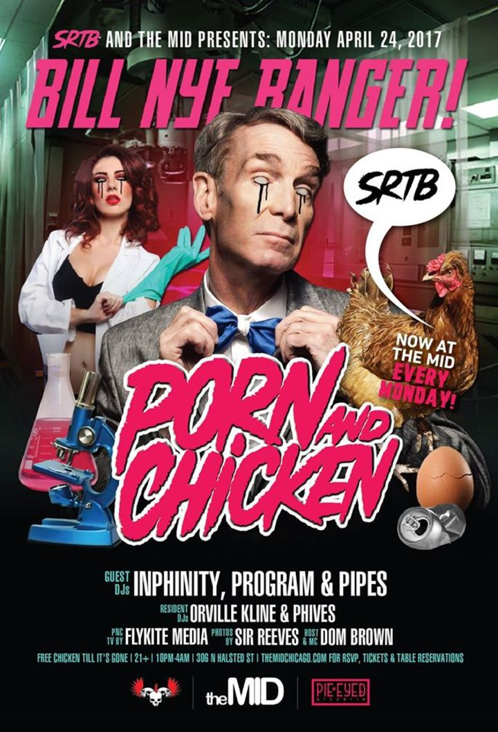 Porn and Chicken Dance Party Tour Dates