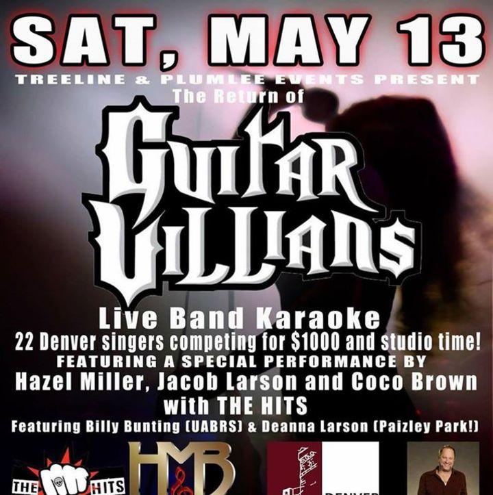 Guitar Villians Live Band Karaoke Tour Dates