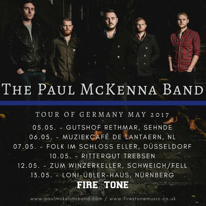 the paul mckenna band Tour Dates