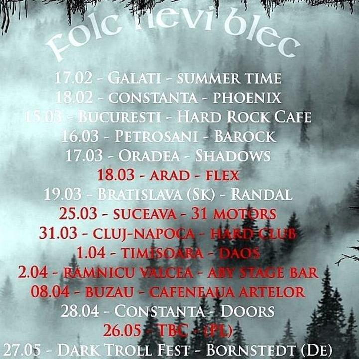 Bucovina Tour Dates