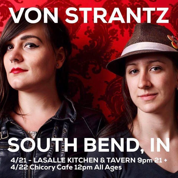 VON Strantz Tour Dates