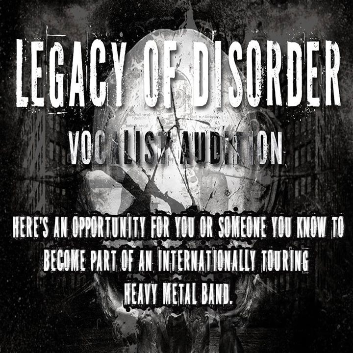 Legacy of Disorder Tour Dates