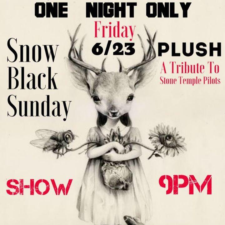 Snow Black Sunday Tour Dates