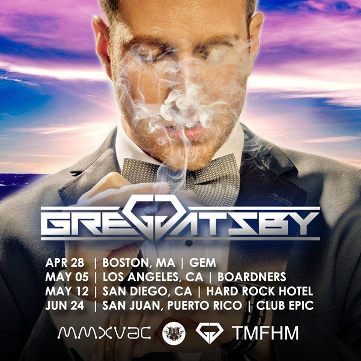 Greg Gatsby Tour Dates