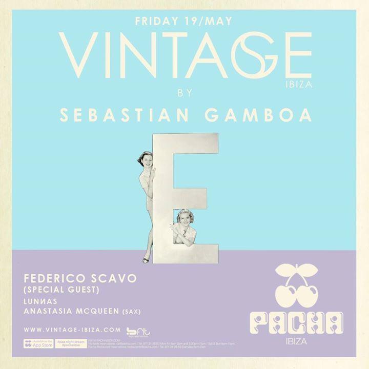 VINTAGE by Sebastian Gamboa Tour Dates