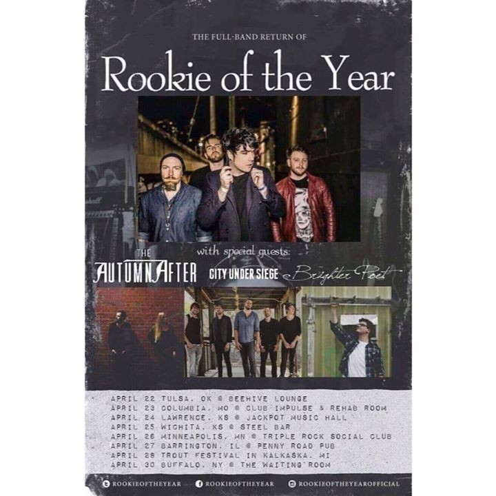 Rookie of the Year @ The Warehouse - Clarksville, TN