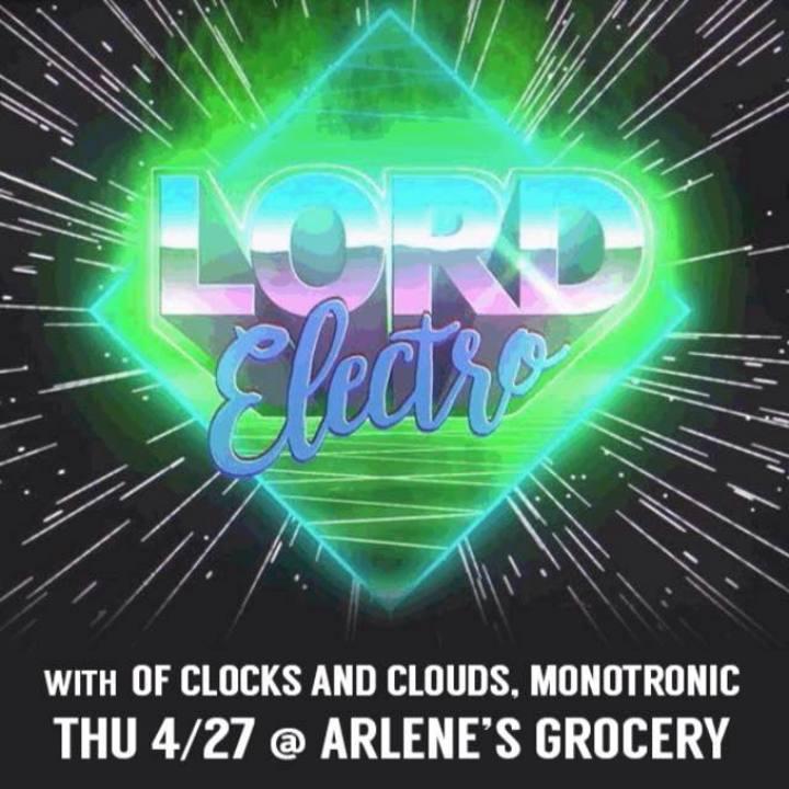 Lord Electro Tour Dates