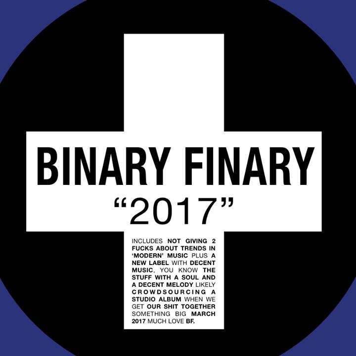 Binary Finary Tour Dates