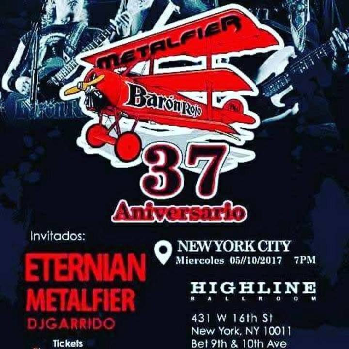 Metalfier Tour Dates