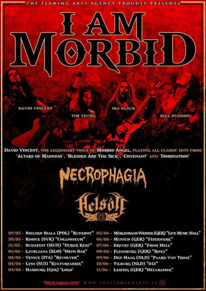 Necrophagia (official) Tour Dates