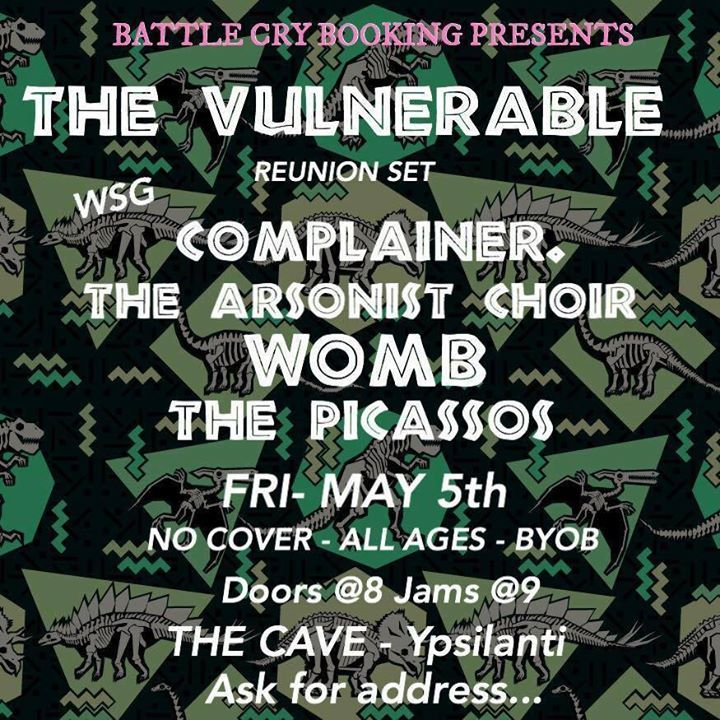 The Vulnerable Tour Dates
