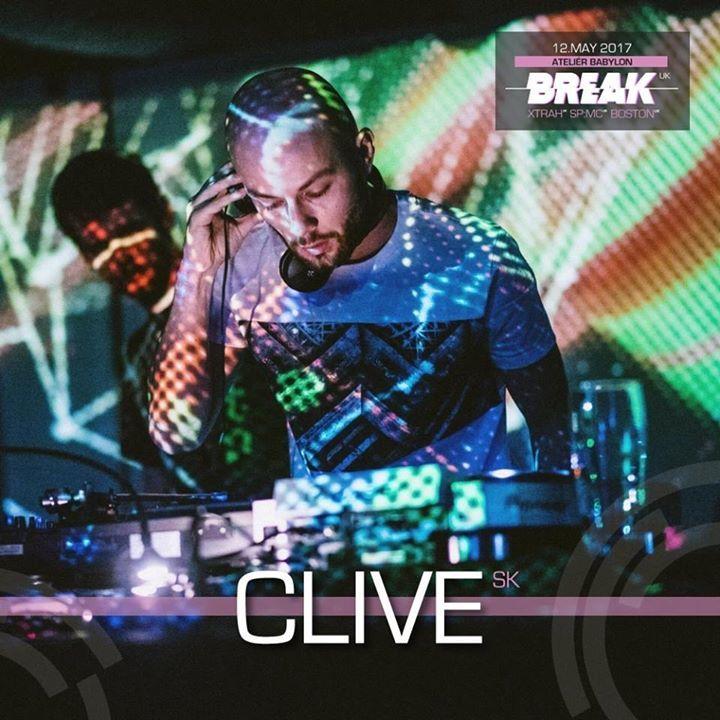 CLIVE @ Radio 1 - Prague, Czech Republic