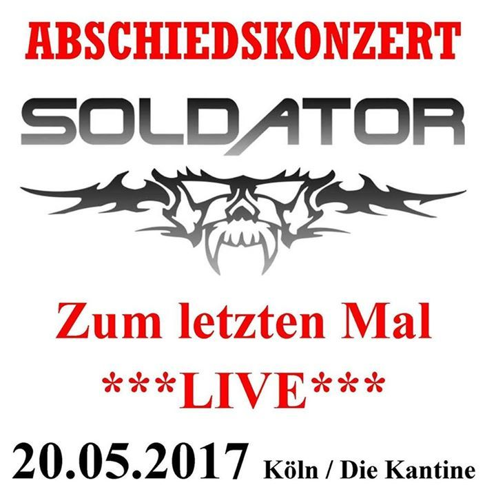 Soldator @ Die Kantine - Cologne, Germany