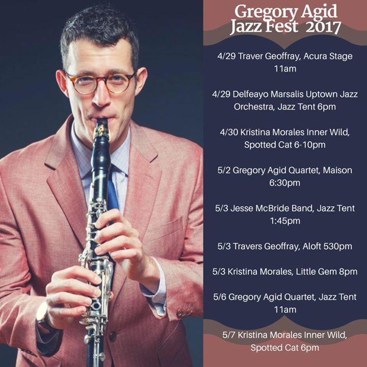 Gregory Agid Tour Dates