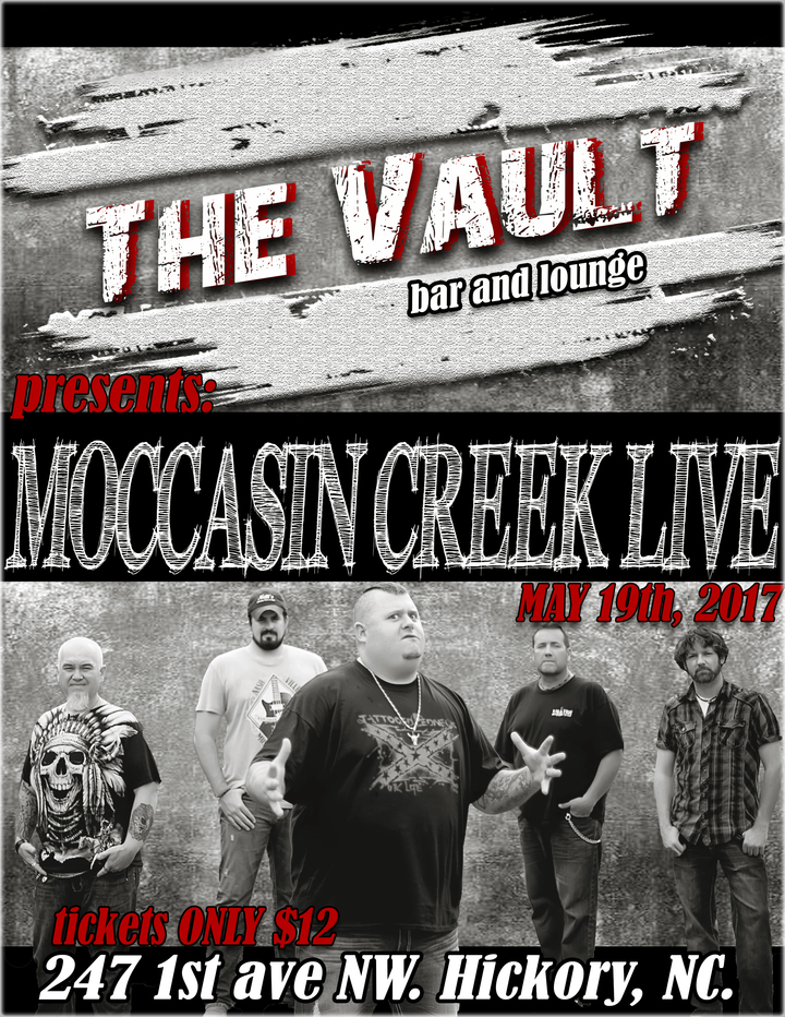 Moccasin Creek @ The Vault - Hickory, NC