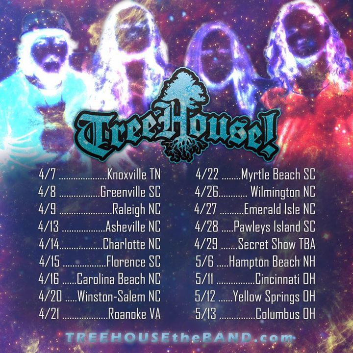 Treehouse Tour Dates