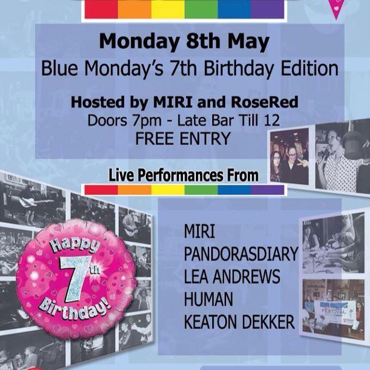 Blue Monday Tour Dates