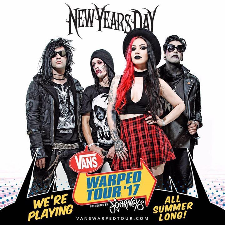 New Years Day @ Revolution Live - Fort Lauderdale, FL