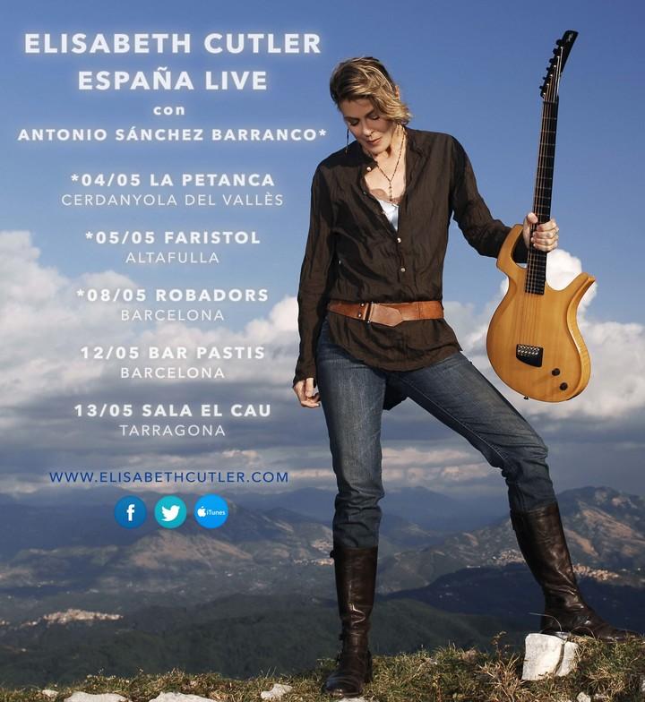 Elisabeth Cutler @ Sala El cau - Tarragona, Spain