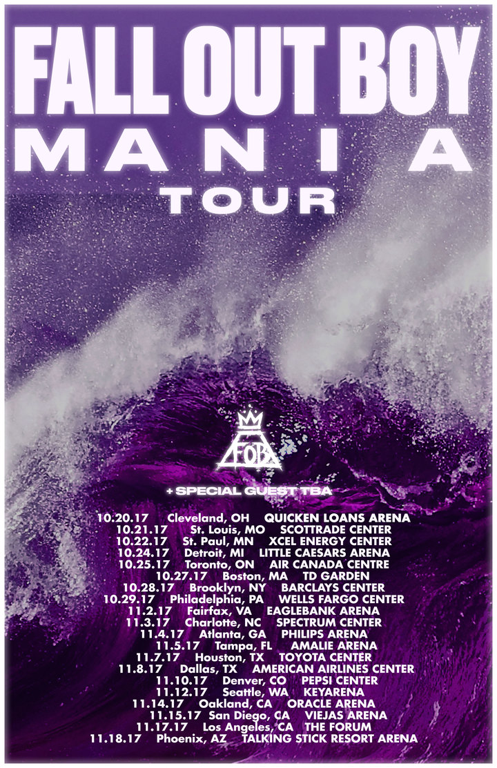 Fall Out Boy @ Viejas Arena - San Diego, CA