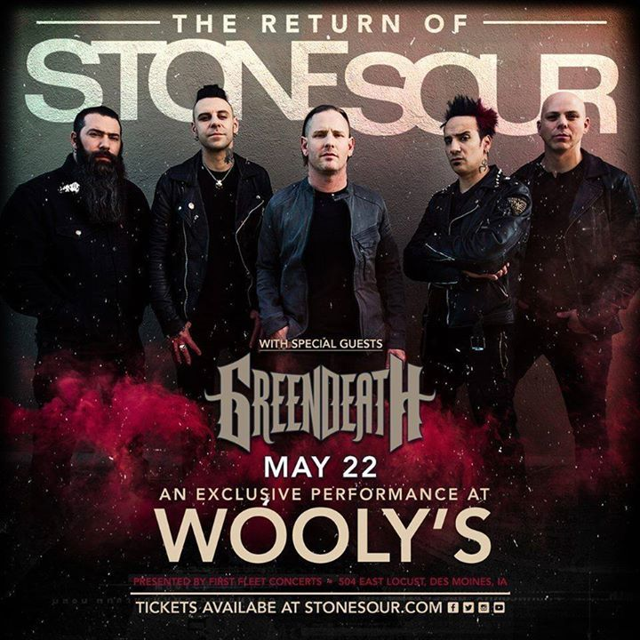 Green Death Tour Dates